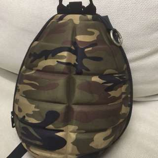 Kid bomb shape backpack