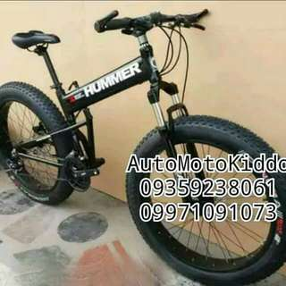 Hummer folding fat bike. Hummer Foldable fat tire bike