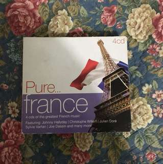 Pure France Music CD