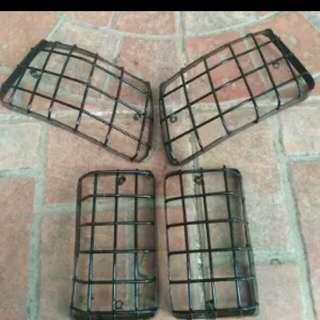 Vespa PX signal grill set