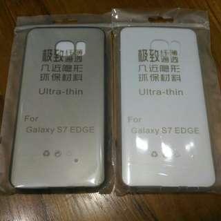 Samsung S7 Edge clear casing