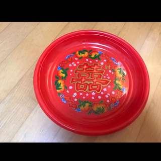 Chinese Wedding (Xi/ Red Plate/ Guo Da Li/ 囍) / Wedding/ Tradition