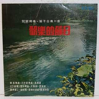琵琶*笛子 - 欢乐的日子 Vinyl Record