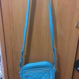 Blue Green Sling Bag (Small)