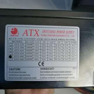 ATX 480w PSU