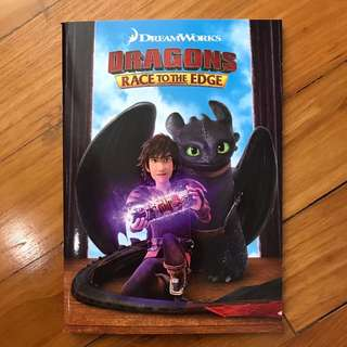 How to train a dragon notebook