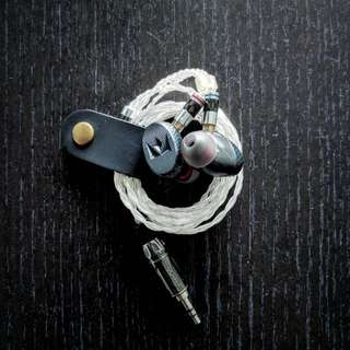 Noble X Massdrop IEM w/ Pure Silver Cable by EresAudio