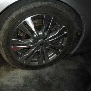 Rim honda city tmo