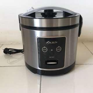 Rice Cooker Kirin 289 - Magic Com Kirin - Penanak Nasi Kirin