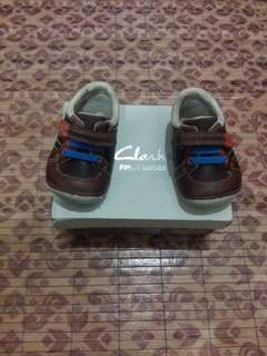 New Clarks Leather Shoes