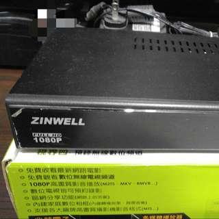 兆赫 藍光視界 播放器 ZIN-8006HD