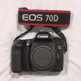 Canon 70D DLSR