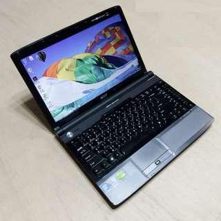 🚚 14.1吋 WXGA 高亮度LED 鏡面寬螢幕 ACER 4935G/4937G 雙核心/獨顯 筆電 Notebook / Laptop !!