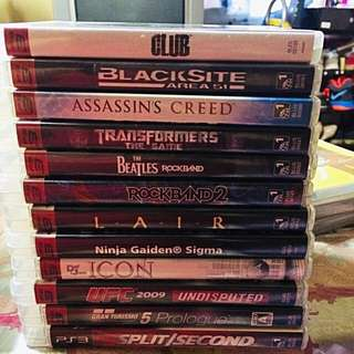 Ps3 Original Games for Sale