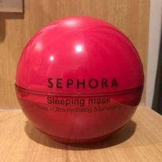 Sephora Rose Sleeping Mask