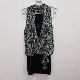 Mini dress / blouse shimmer