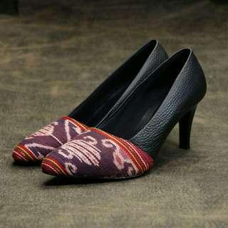 Sepatu Tenun Kulit (3 model)