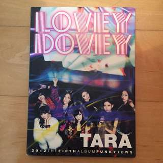 TARA - Lovey Dovey Funky Town [5th Mini Album]