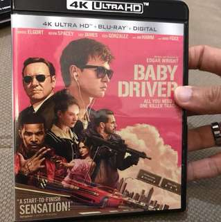 Baby Driver 4K Ultra HD Blu-ray