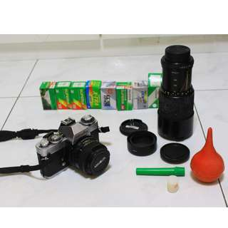 Minolta Film SLR camera &SLR Lens