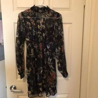Zara dress size L