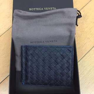 Bottega Veneta Money Clip Card Case wallet BV 銀包 銀紙夾 夾錢 牛皮