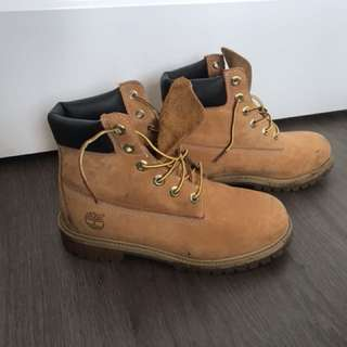 Timberlands - worn once