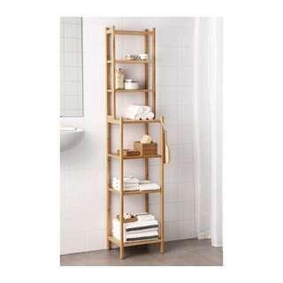 ikea 收納架 置物架 層架 竹製 浴室 RAGRUND RÅGRUND