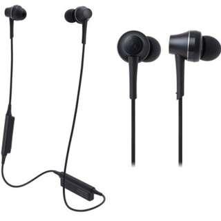 Audio Technica CKR75BT 4色 無線藍牙 鋁外殼 耳機 支援 AptX 高音質 有Mic 支援 iPhone Android 手機