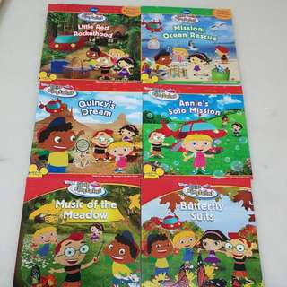 Little Einsteins (Set of 6 books)