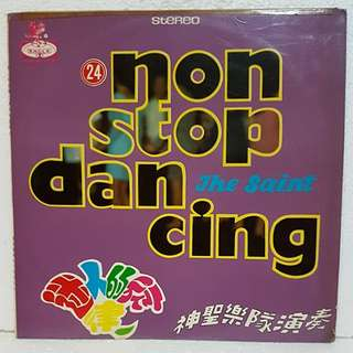 The Saint - 24 Non Stop Dancing Vinyl Record