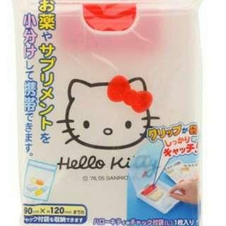 kitty 藥品收納盒 藥盒 凱蒂貓