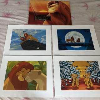 Lion King (A3) Poster Authentic Disney