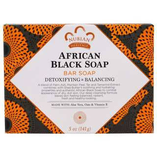 Nubian Heritage, African Black Soap Bar