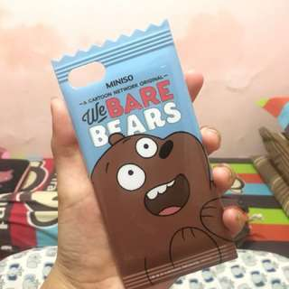Miniso We Bare Bears Case Series Iphone 7