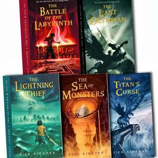 🆓 Ebooks: Percy Jackson and the Olympians