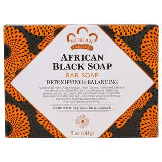 *FREE MAIL* Nubian Heritage, African Black Soap Bar