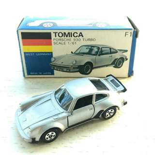 Tomy Tomica F1 Porsche 930 Turbo