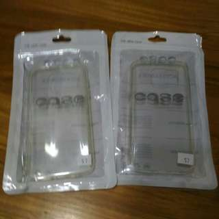 Samsung S7 clear firm casing
