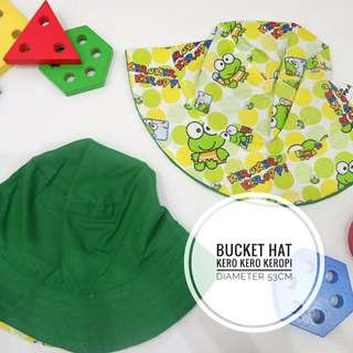Bucket Hat Topi Anak Kerokeropi