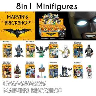 For Sale Latest Batman 8in1 Minifigures