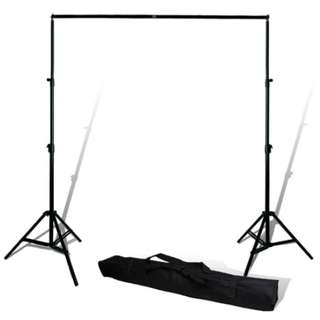 Photobooth backdrop stand