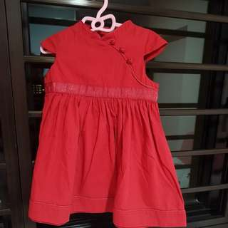 Chateau de sable CNY Red Dress