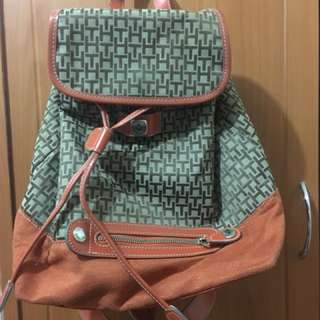 Authentic Tommy Hilfiger Backpack (Orange)