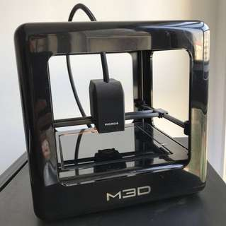 M3D Micro+ with ceramic heated bed 3D printer