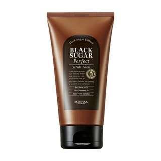 Skin Food Black Sugar Scrub Foam
