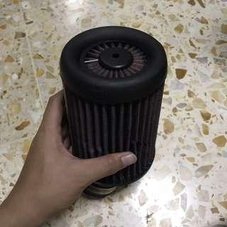Aprilia rs125 K&N open pod filter