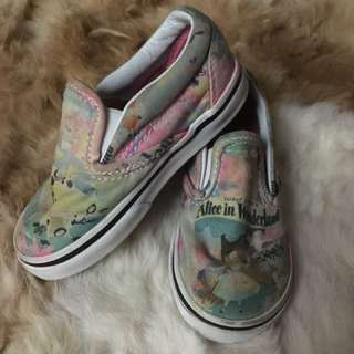 Vans wonderland shoes