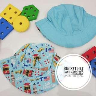 Bucket Hat Topi Anak San Fransisco