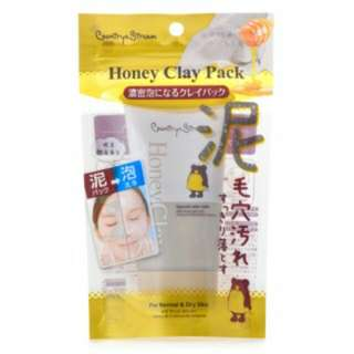 Country & Stream Honey Clay Pack 60g